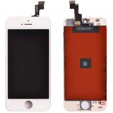 Модуль (дисплей, тачскрин, рамка) iPhone 5S, SE Белый (White)