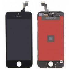 Модуль (дисплей, тачскрин, рамка) iPhone 5S, SE Черный (Black)