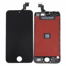 Модуль (дисплей, тачскрин, рамка) iPhone 5C Черный (Black)