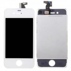 Модуль (дисплей+тачскрин+рамка) iPhone 4 Белый (White)